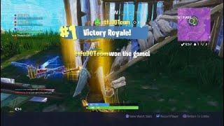 One gun challenge (Fortnite Battle Royal)