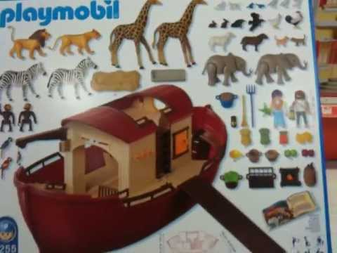 Playmobil bateau youtube for Arca de noe playmobil