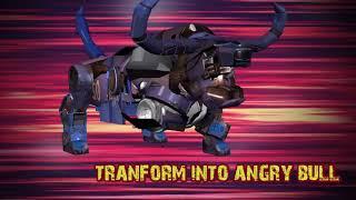 Trailer: Angry Robot Cop Bullfighting Transform Bike Games