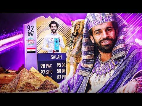 NIESAMOWITY 92 POTM SALAH! FIFA 18 ULTIMATE TEAM