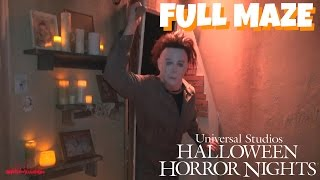Halloween: Michael Myers Comes Home (HD Full Maze) Halloween Horror Nights 2015 Universal Studios