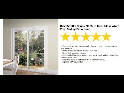 patio door installation reliabilt series 300 sliding 6 ft rb vinyl patio door youtube patio door installation reliabilt series 300 sliding 6 ft rb vinyl patio door