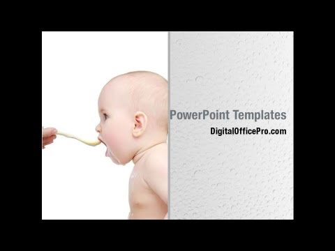 baby food powerpoint template backgrounds digitalofficepro 00072