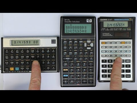 Every Maker Should Have [Pt.40]...an HP-15C, HP-35S or a Casio fx-61F