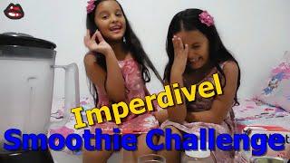 Smoothie Challenge1°-Diário das Gêmeas