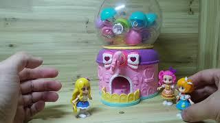 미니돌 캡슐 코디샵 옷갈아입히기 장난감 토이