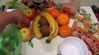 Рецепт фруктового торта с соком