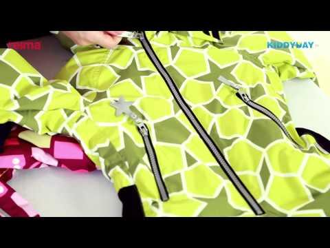 Reima зимние комбинезоны - обзор детской одежды