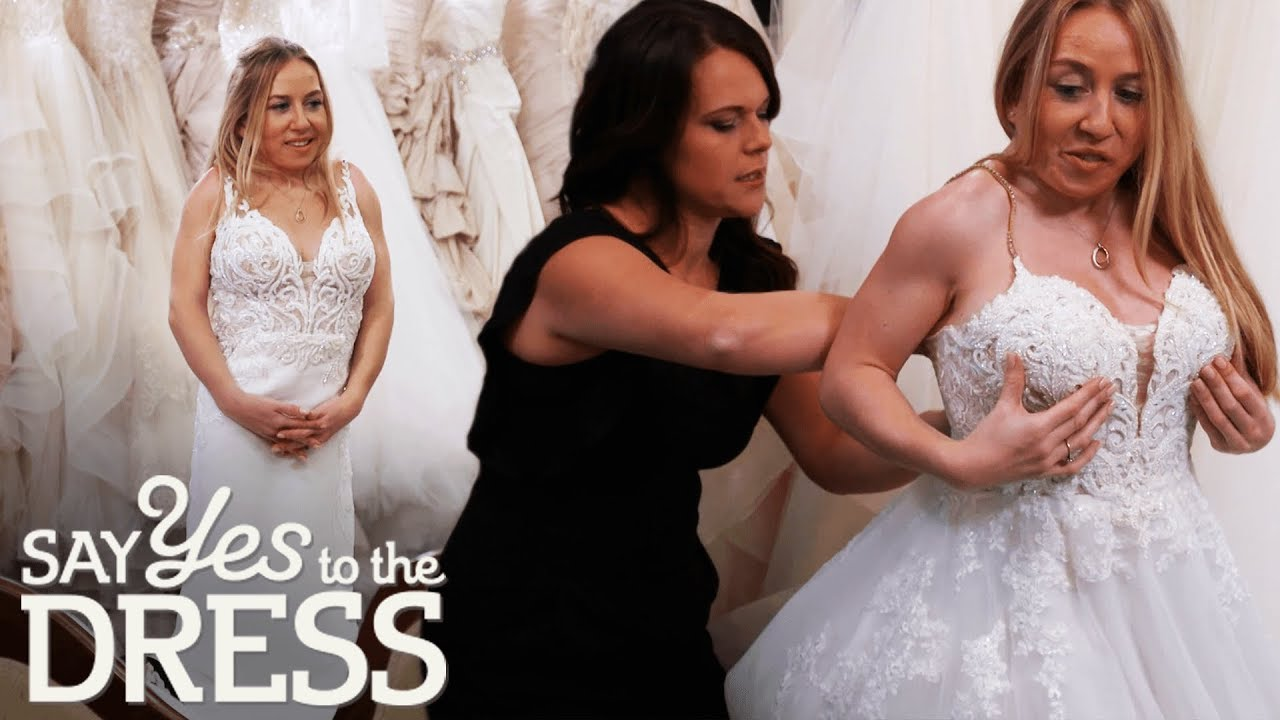 Little Person Bride Wants A Stylish Sexy Dress Say Yes To The Dress Lancashire Youtube