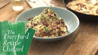 Radicchio & Bacon Pasta recipe