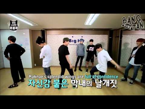 [ENG] 150527 [BTS in NAVER STAR CAST] BTS' Lucky Draw - EP 1 (Charades)
