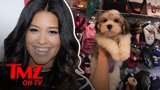 Gina Rodriguez Drops $2.5k On A New Pooch! | TMZ TV