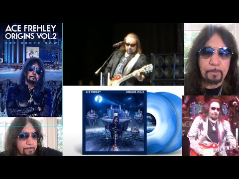 KISS' Ace Frehley new album, Origins Vol. 2 new interview posted..!