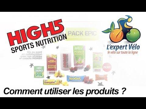 Image de la vidéo Comment utiliser les produits énergétiques high5 ?