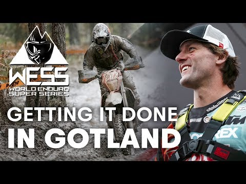 On the Road With WESS - The Gotland Grand National Experience | Enduro 2018
