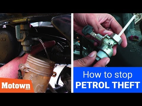 How to stop petrol theft in motorcycles | Motorcycle Petrol Lock | Motown India