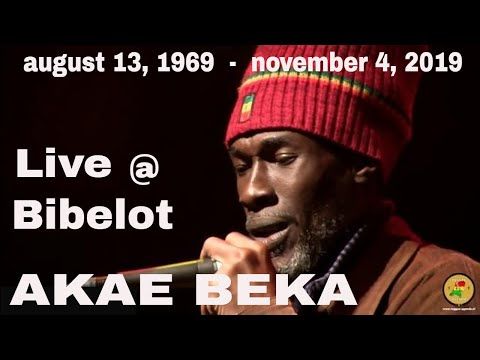 AKAE BEKA LIVE - THE VOICE OF MIDNITE  @ BIBELOT HOLLAND 201