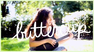 Buttercup by Jack Stauber (cover) filmed in a fairy-like outdoorsy setting