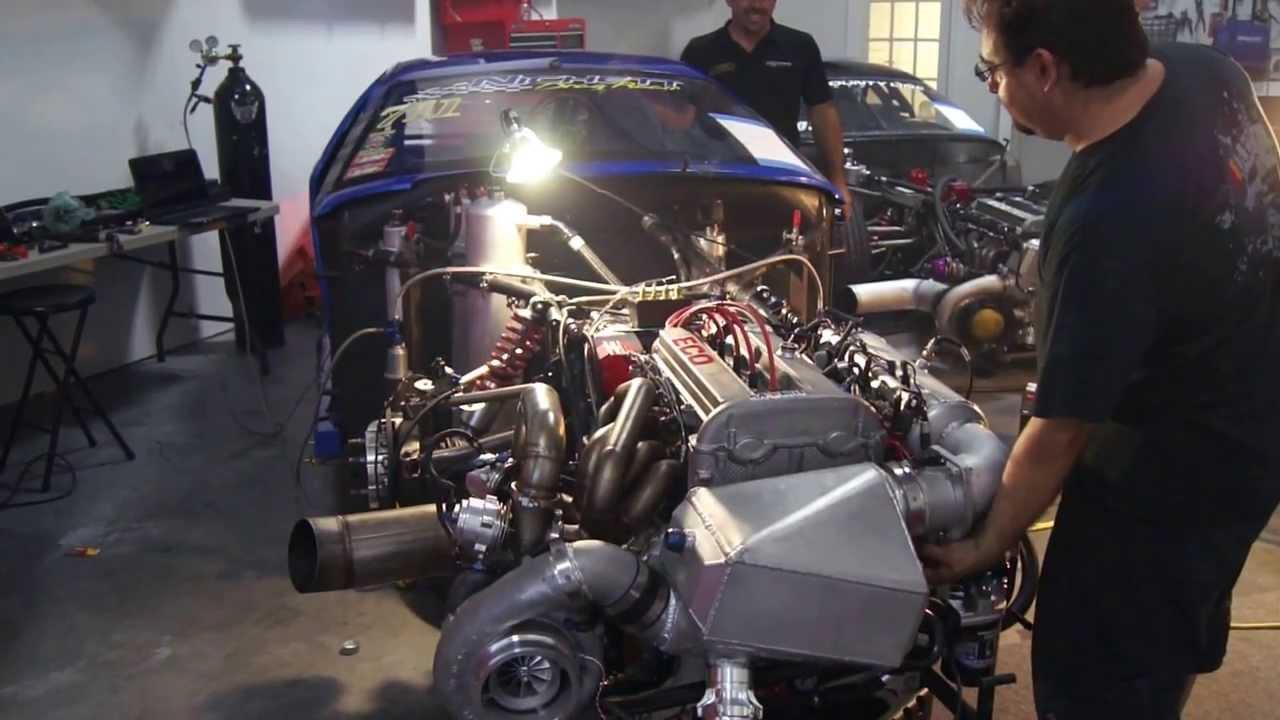 Nichetti Drag Racing Team Florida - Pro FWD (BLUE) Fire Up!