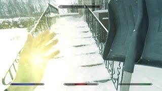 Skyrim в реальной жизни: Снегочист