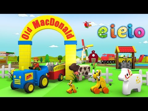 Old MacDonald Had a Farm | Nursery Rhymes | Toy Factory | Songs For Children - eieio old mcdonald