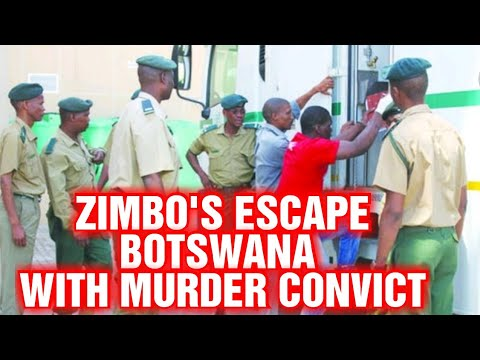 ZIMBO'S ESCAPED BOTSWANA PRISON • NOW ON THE RUN • DAILY NEWS