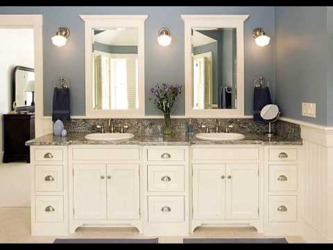 Bathroom Cabinets with Lights and Shaver Socket YouTube