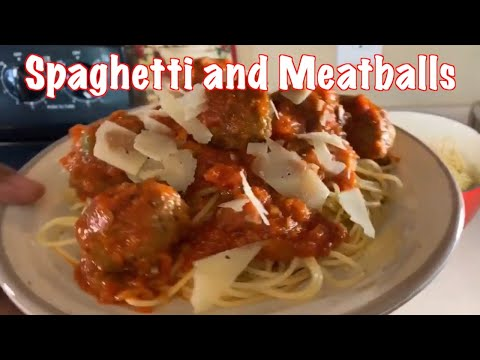How to make Easy Spaghetti & Meatballs