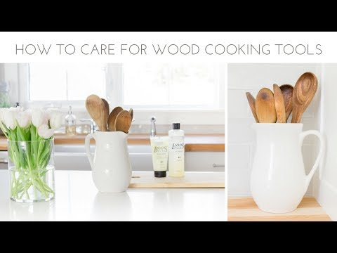 Farmhouse Home: How to Care for Wood Utensils and Cutting Boards