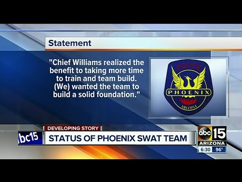 What's The Status Of Phoenix Police SWAT Team?