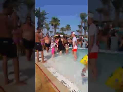 Hotel Houda Golf & Beach Club, Monastir, Tunisia russia foam party