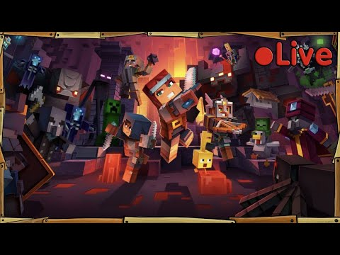 Minecraft Dungeons - With A Squid & A Duck - 🔴 Live