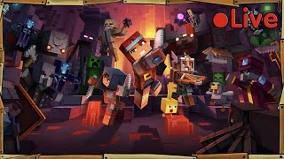 Minecraft Dungeons - With A Squid & A Duck - ? Live