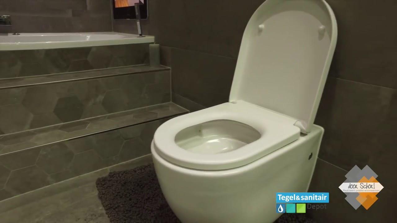 Showroom badkamer gemaakt bij het TegelDepot in Zeewolde - YouTube