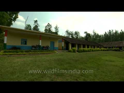 School in South Indian village