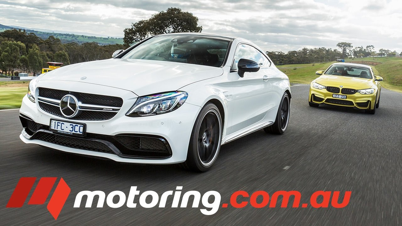 Bmw M4 Competition V Mercedes Benz C 63 S Coupe Youtube