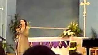 Joumana Mdawar at the Rosary Church, Doha, Qatar (22-03-2010) part 2.MP4