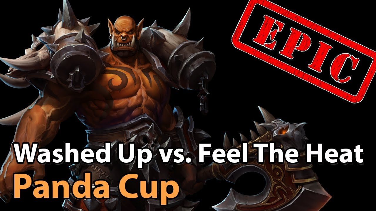 ► Washed Up vs. Feel The Heat - WB Final - Panda Cup - Heroes of the Storm Esports