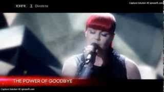 [X Factor DK] Stephanie - The Power of Good-Bye (Live Show 3)