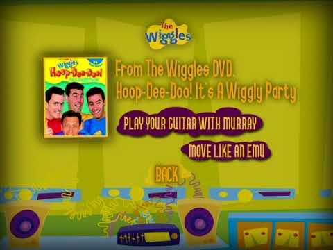 The Wiggles DVD Sampler Menu