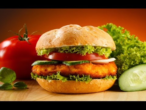 how to make chicken burger at home