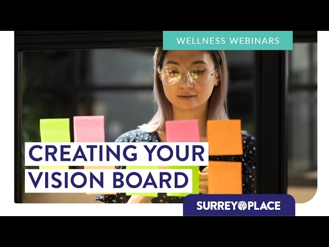 Mind Body and Soul Series: Creating Your Vision Board