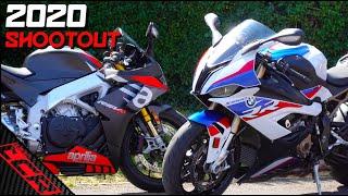 Superbike Shootout 2020 | S1000RR vs RSV4 1100 Factory
