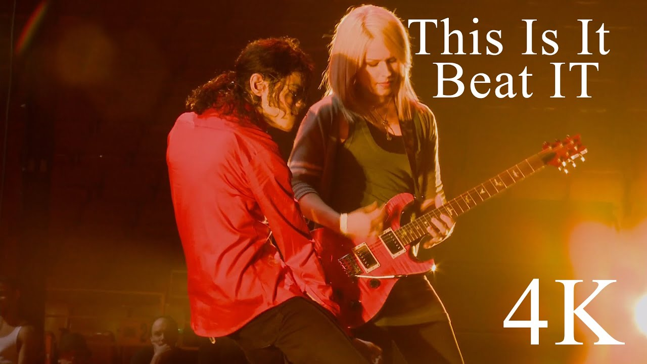 Download Michael Jackson This Is It | Beat It 4K
