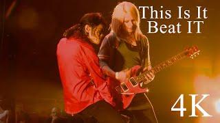 Michael Jackson This Is It   Beat It 4K