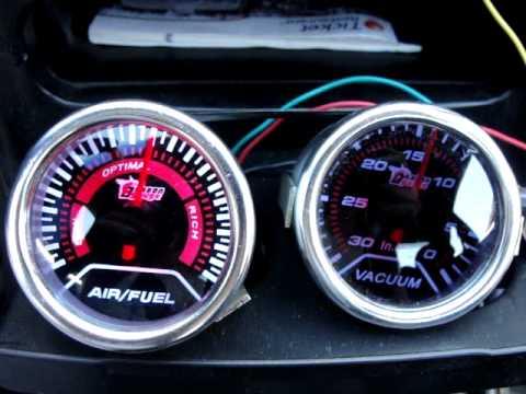 autometer air fuel ratio gauge wiring diagram 2000 5 0 mercruiser starter wtf 2 youtube
