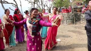 dadai furke sallo nepali dance
