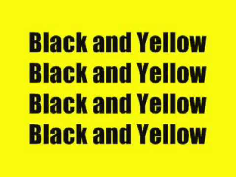 Wiz Khalifa - Black And Yellow (Lyrics)