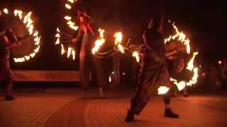 Факелно шествие и огнено шоу в навечерието на 24 май в Чепеларе