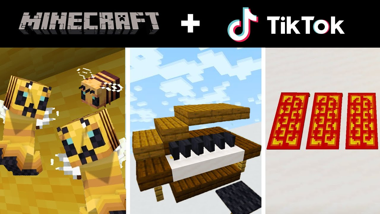 TikTok MINECRAFT Compilation 21